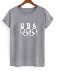 USA olympic logo t-shirt