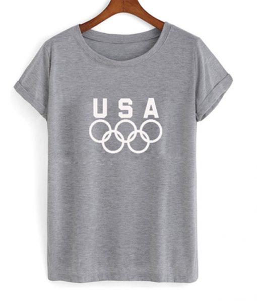 USA olympic logo t-shirt