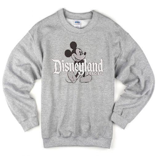 disneyland resort mickey sweatshirt