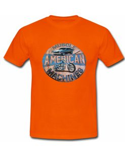 muscle american machines shirt