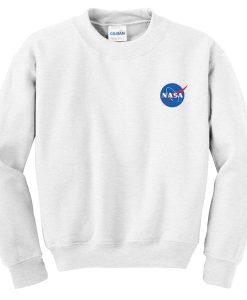 nasa logo sweatshirt