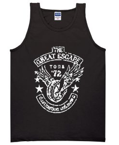 the great escape tour of 72 tanktop