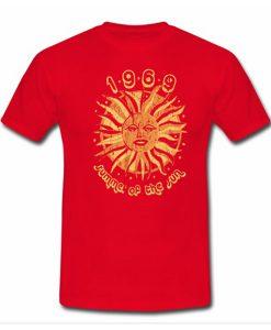 1969 summer of the sun tshirt