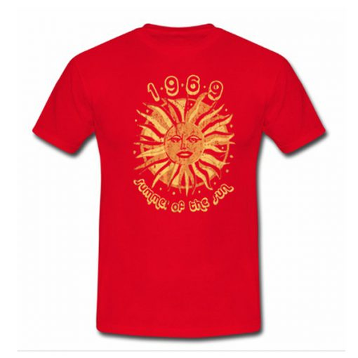 1969 summer of the sun tshirt