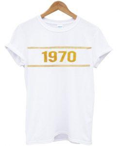 1970 yellow t-shirt