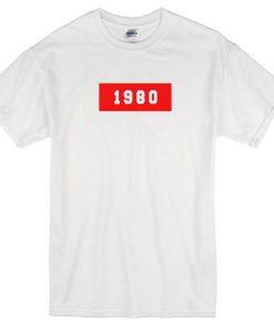 1980 tshirt
