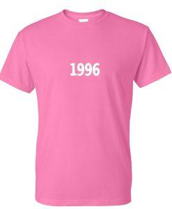 1996 pink tshirt