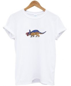 triceratops dinosaur island t-shirt