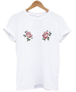 two flower t-shirt