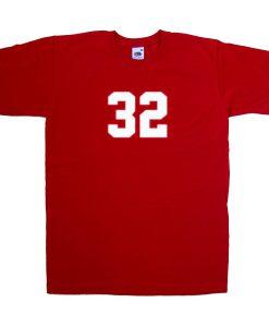32 red tshirt
