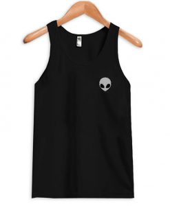 alien head tanktop