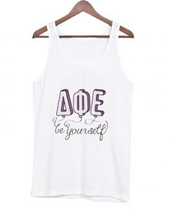 be yourself AQE tank top