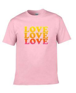 triple love tshirt