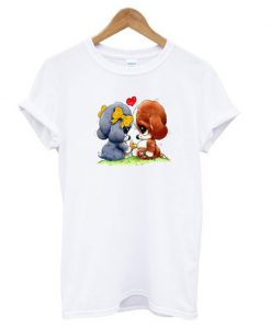 sad sam and honey dog t-shirt