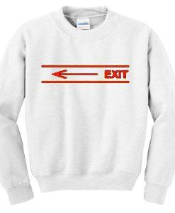 arrow exit sweatshirt