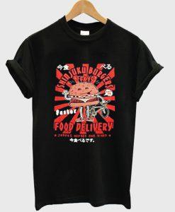 shinjuku burger tokyo t-shirt