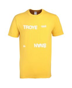 troye sivan '18 tour tshirt