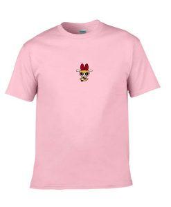 powerpuff pink tshirt