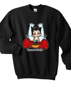 astro boy blazed sweatshirt