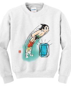 astro boy diamond sweatshirt