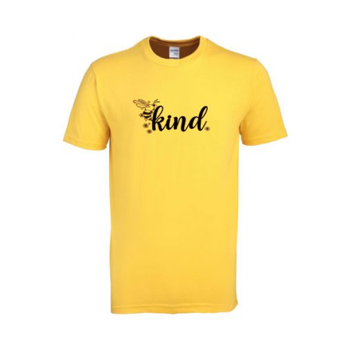 summer bee kind tshirt