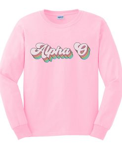 alpha sweatshirt