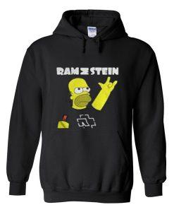 rammstein simpson hoodie