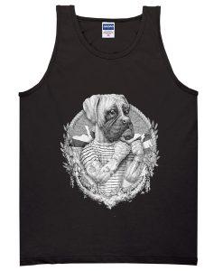 boxer dog tanktop