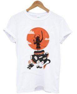 samurai sushi t-shirt