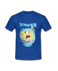 sponge bob running tshirt