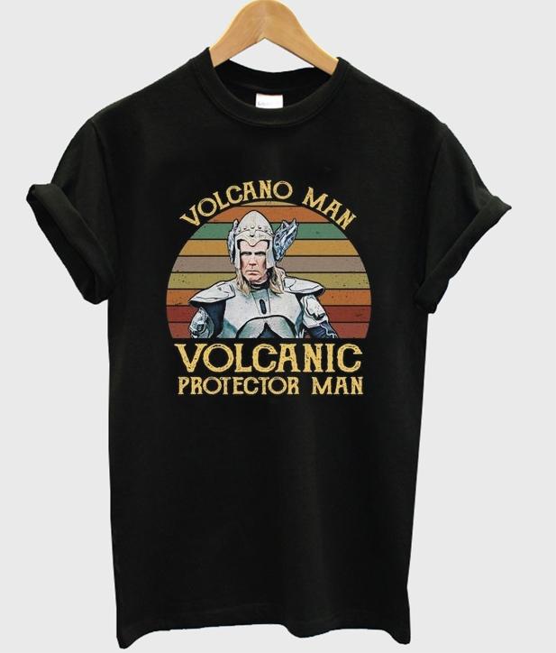 volcano man t-shirt