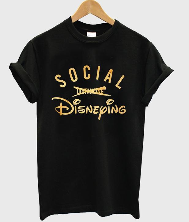 social disneying t-shirt