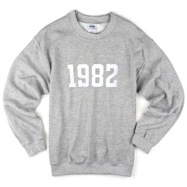 1982 sweatshirt